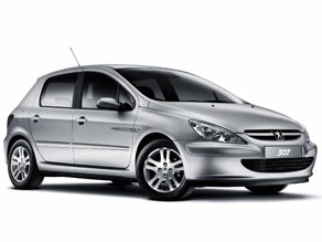 2002 test peugeot 307 xs hdi 90 cv auto al d a. Black Bedroom Furniture Sets. Home Design Ideas