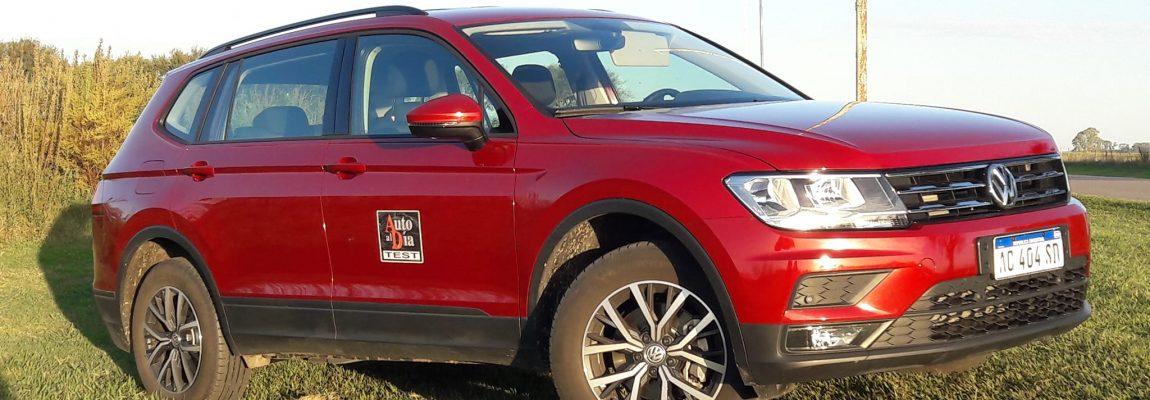 TEST VW TIGUAN ALLSPACE 1.4T TRENDLINE.