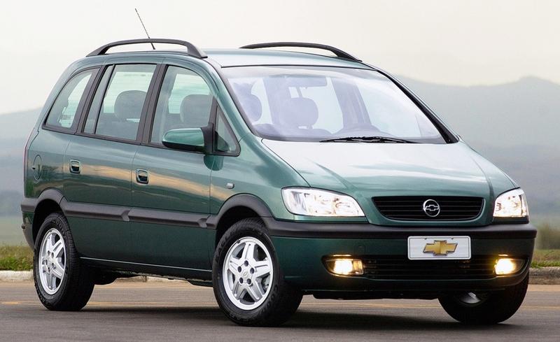 2001 Test N 96 Chevrolet Zafira Gls 2 0 16v Auto Al Dia