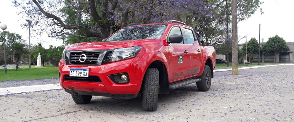 TEST NISSAN FRONTIER X-GEAR 4X4. STAND NISSAN CARILÓ. (23.1.21)